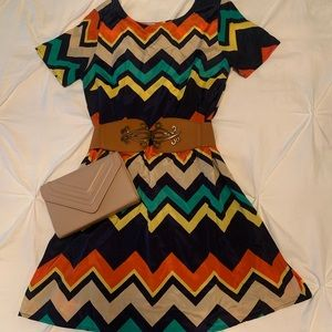 Francesca's Multicolored Dress 👗